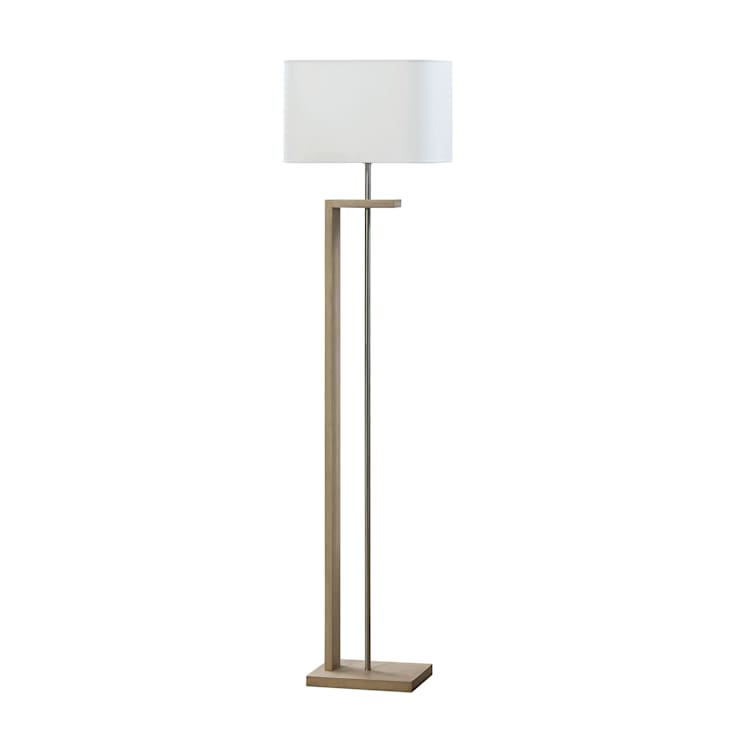 NATEZA Natural Floor Lamp by Envy:  Living room by All the hues