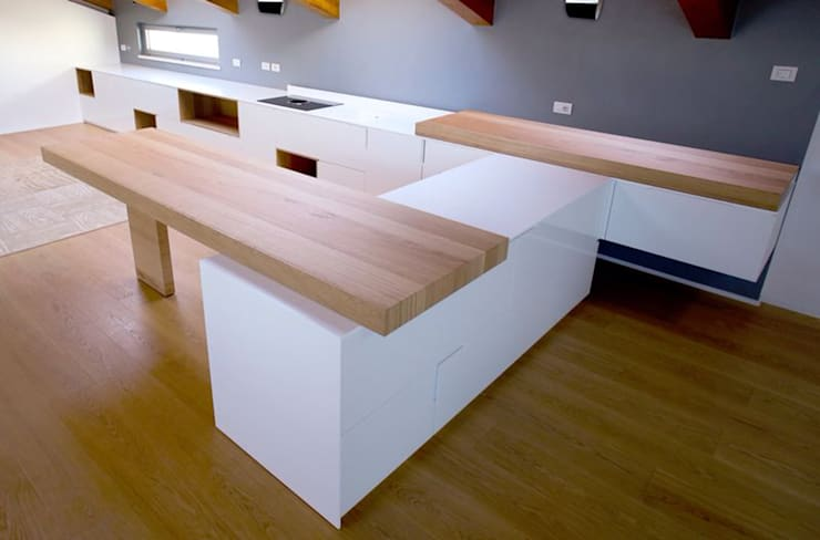 Casa AC: Cucina in stile  di davide prandin / architetto