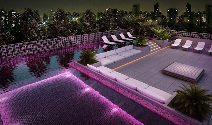 Kolam Renang oleh MM18 Arquitetura