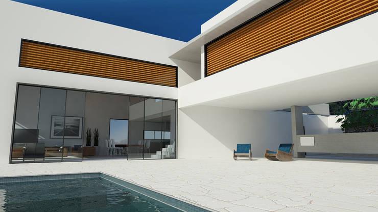 Casa Toninhas: Casas  por MM18 Arquitetura