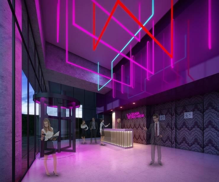 Koridor dan lorong oleh MM18 Arquitetura