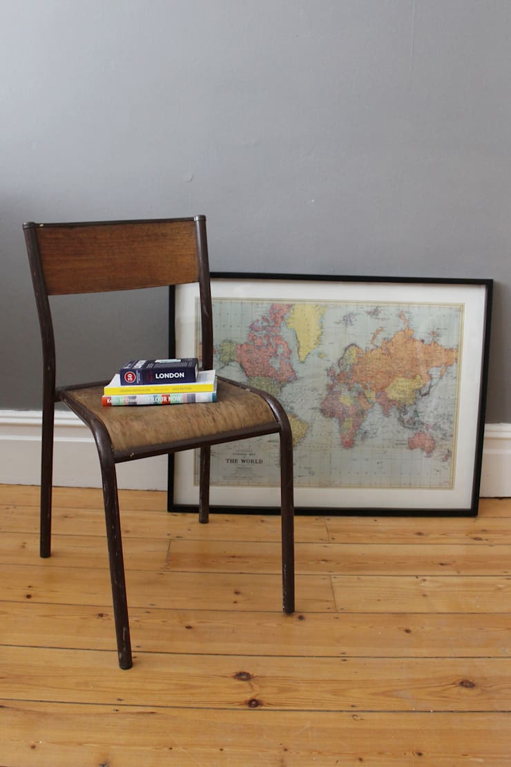 Vintage industrial chair:  Household by Owl and the Elephant