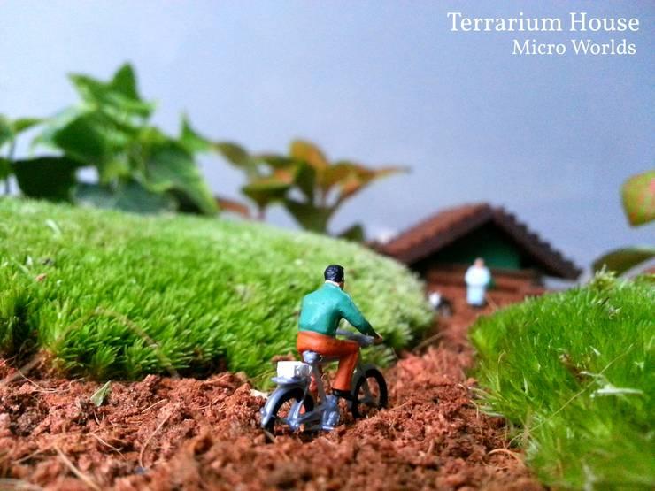 Terrarium House – Terrarium 'Home Sweet Home':  tarz Ev İçi