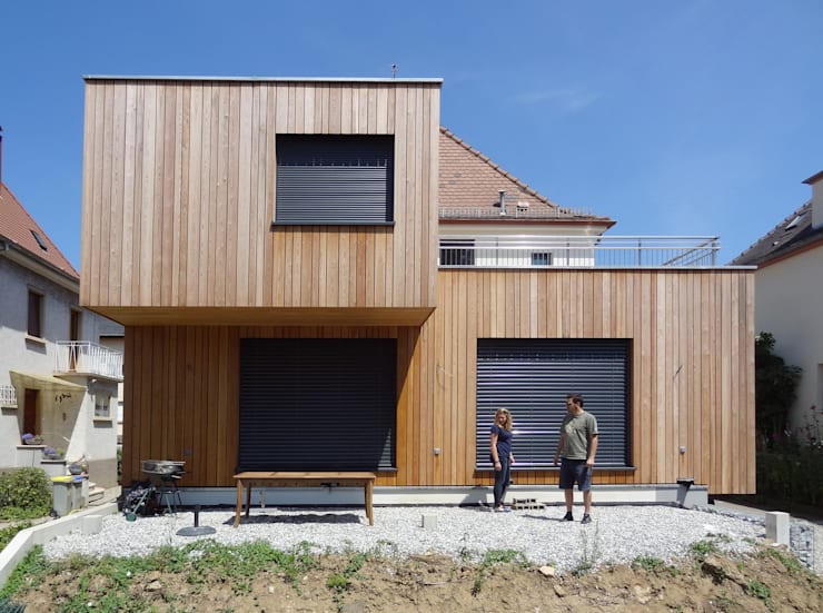 Casas modernas por Les Nouveaux Voisins
