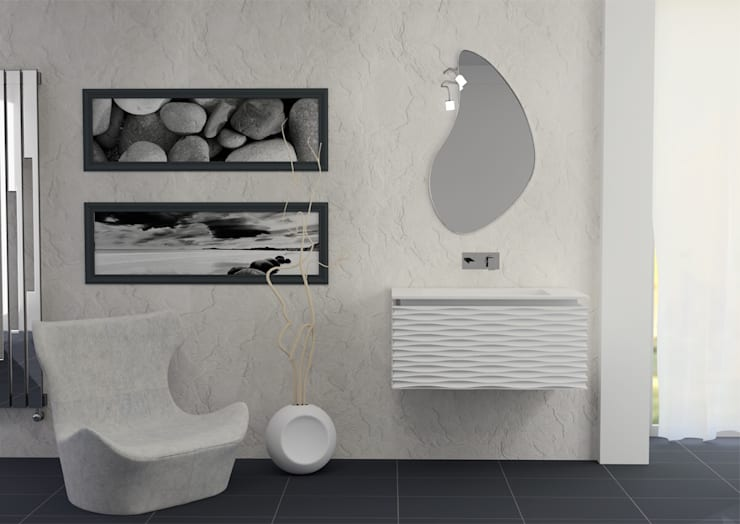 3D: Bagno in stile  di krayms A&D - Fa&Fra