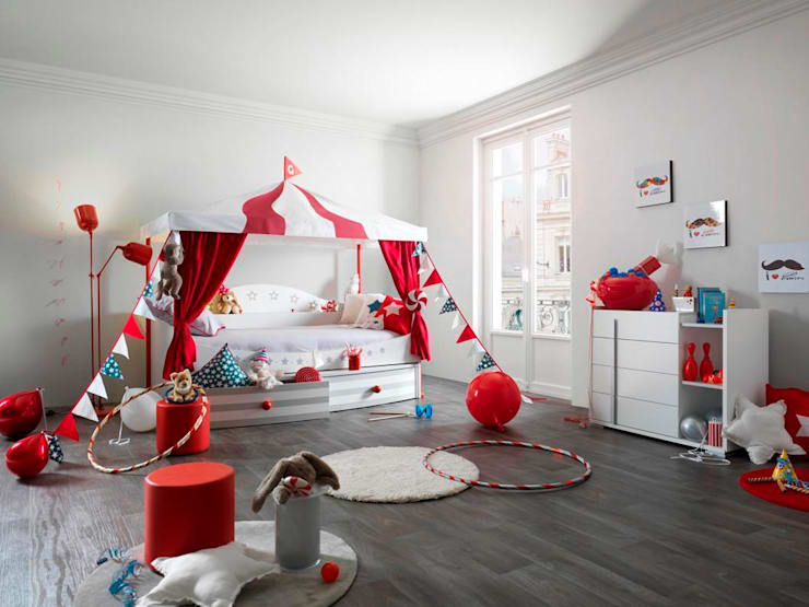 eclectic Nursery/kid's room by Childrens Funky Furniture