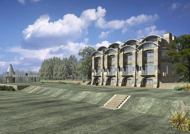 Maisons de style  par Adrian James Architects