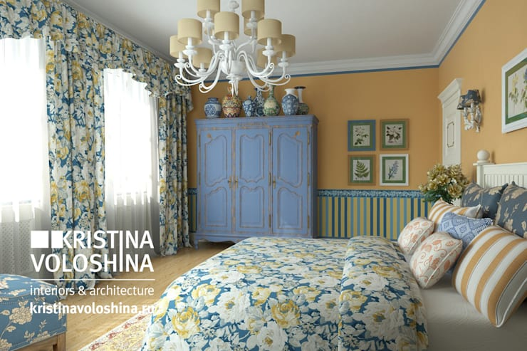Camera da letto in stile In stile Country di kristinavoloshina
