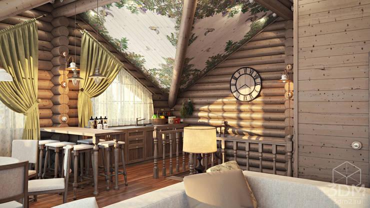 10: Гостиная в . Автор – студия визуализации и дизайна интерьера '3dm2'