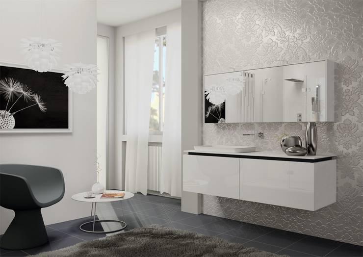 2D white: Bagno in stile  di krayms A&D - Fa&Fra