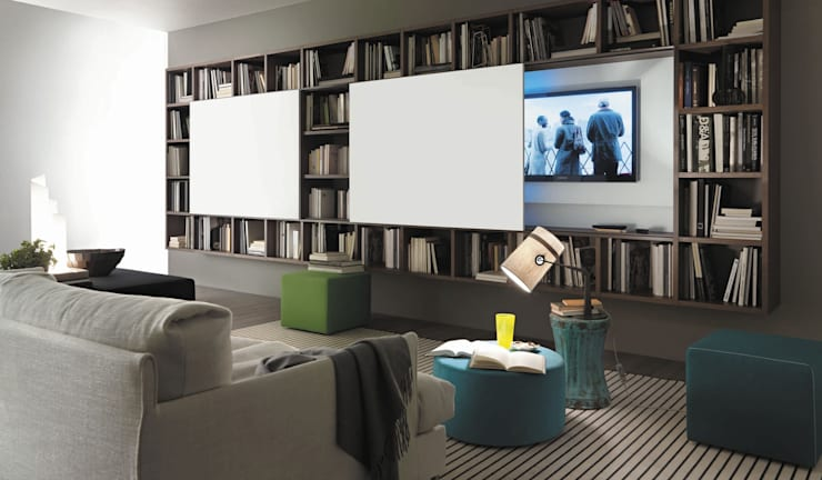 Multimedia room by Mobilificio Marchese