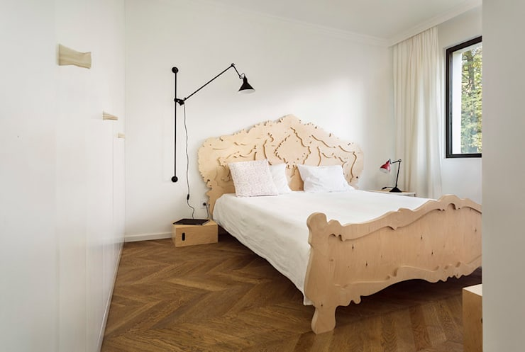 Apartment v01: modern Bedroom by dontDIY