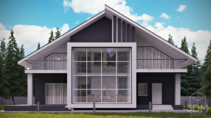 03: Дома в . Автор – студия визуализации и дизайна интерьера '3dm2'