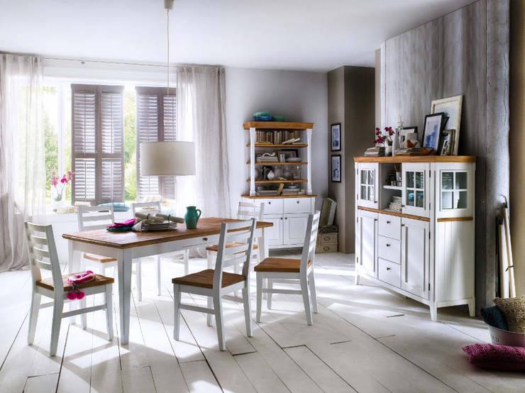 PROVENCE lite drewno - akacja: styl , w kategorii Jadalnia zaprojektowany przez mebel4u
