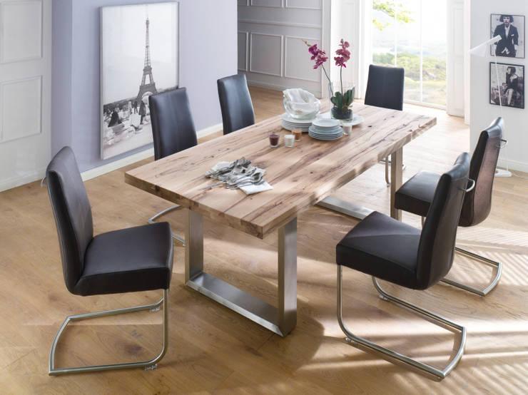 Stół dębowy CASTILO: styl , w kategorii Jadalnia zaprojektowany przez mebel4u