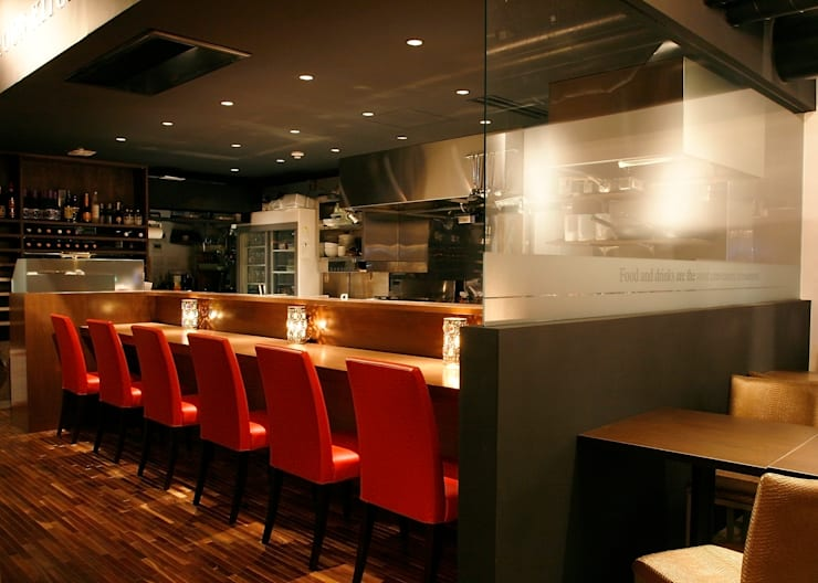 Dinning bar ojare-kojare: INTERFACEが手掛けたレストランです。,オリジナル
