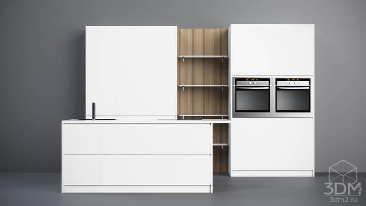 01: Кухня в . Автор – студия визуализации и дизайна интерьера '3dm2'