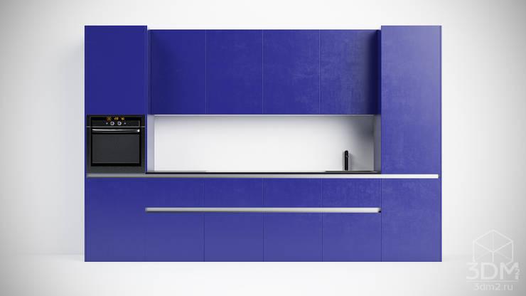 03: Кухня в . Автор – студия визуализации и дизайна интерьера '3dm2'