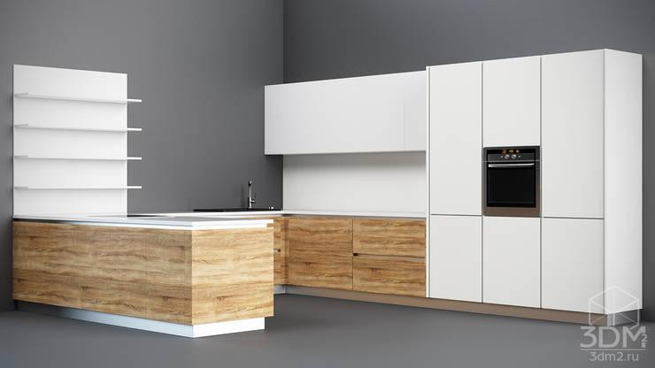 04: Кухня в . Автор – студия визуализации и дизайна интерьера '3dm2'