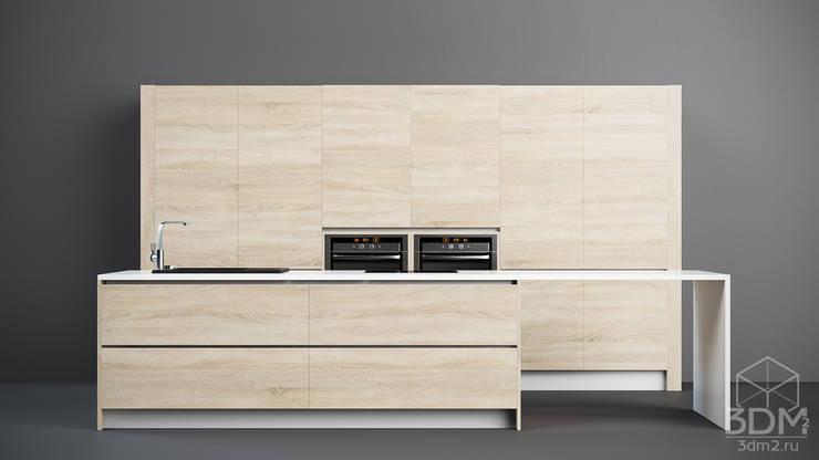 05: Кухня в . Автор – студия визуализации и дизайна интерьера '3dm2'