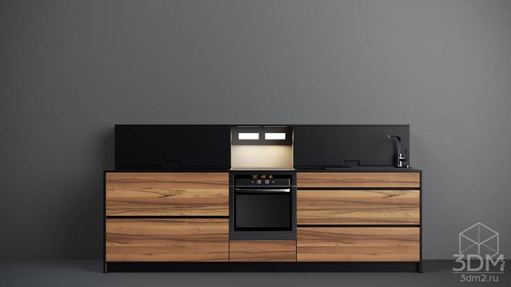 06: Кухня в . Автор – студия визуализации и дизайна интерьера '3dm2'