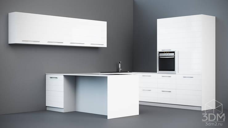 07: Кухня в . Автор – студия визуализации и дизайна интерьера '3dm2'