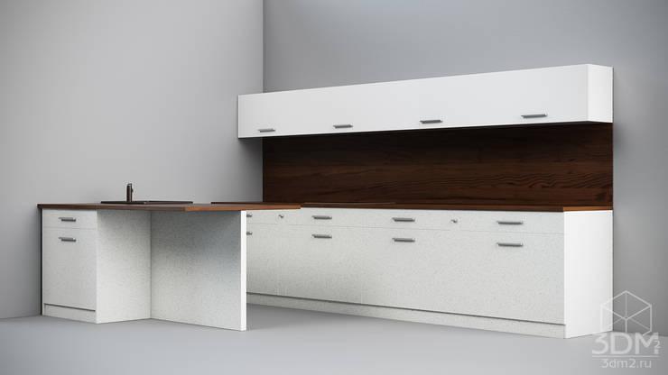 08: Кухня в . Автор – студия визуализации и дизайна интерьера '3dm2'