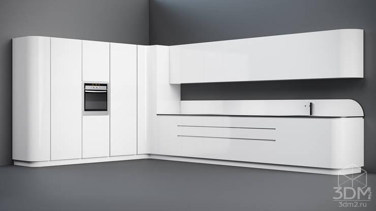 10: Кухня в . Автор – студия визуализации и дизайна интерьера '3dm2'