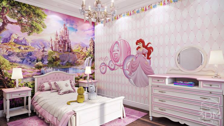 02: Детские комнаты в . Автор – студия визуализации и дизайна интерьера '3dm2'