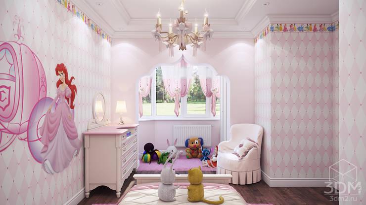 04: Детские комнаты в . Автор – студия визуализации и дизайна интерьера '3dm2'