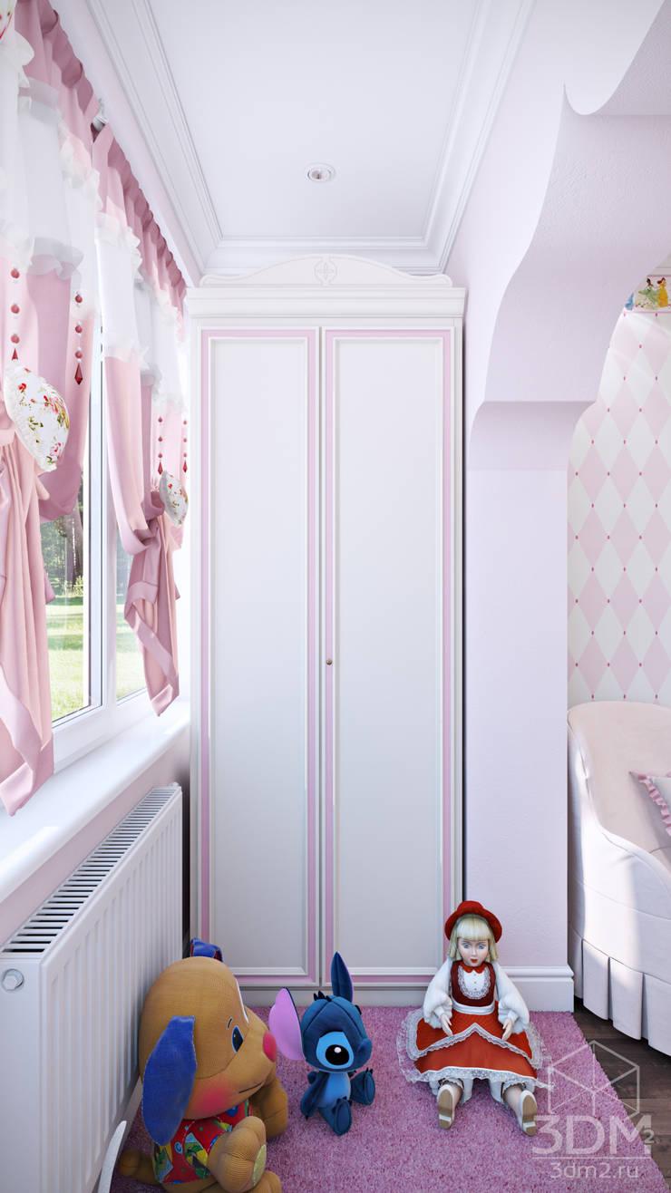 05: Детские комнаты в . Автор – студия визуализации и дизайна интерьера '3dm2'