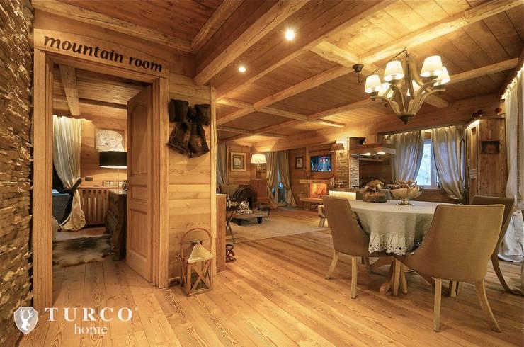 Projekty,  Salon zaprojektowane przez turco home srl