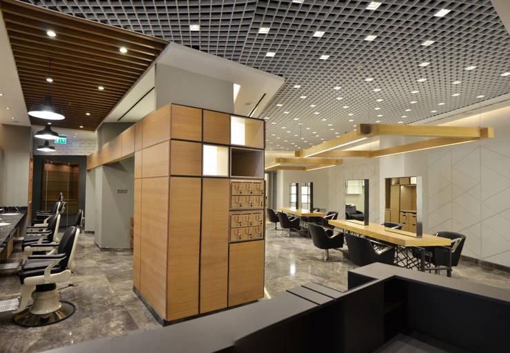 monoblok design & interiors – Hairdresser Project for Bomonti Hilton Figaro Consept:  tarz Dükkânlar
