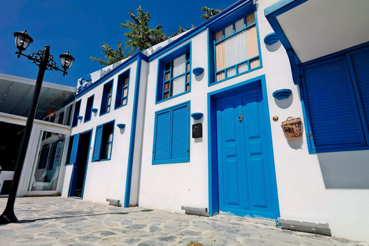 Tepeli İç Mimarlık – Kalikratya Balık Restaurant – Büyükçekmece | İstanbul:  tarz Yeme & İçme