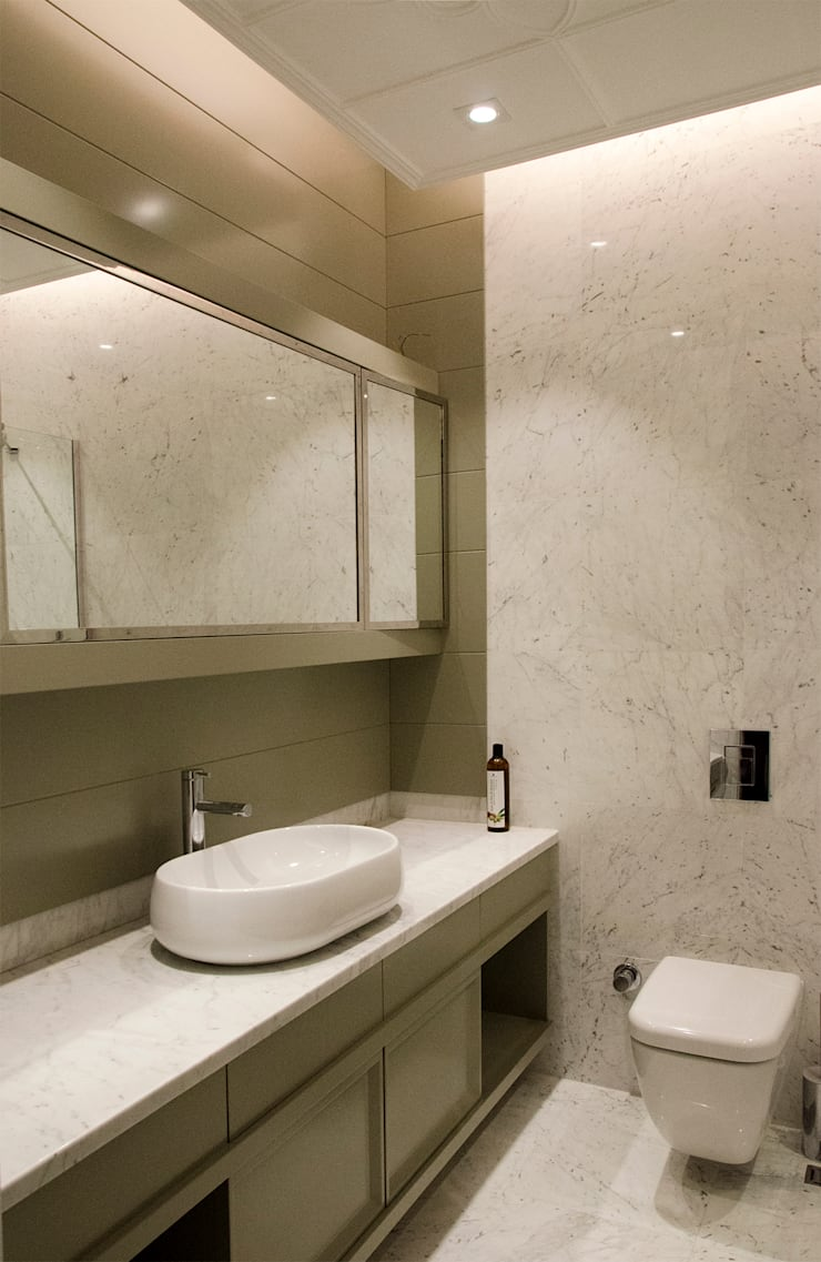 Casas de banho  por monoblok design & interiors,