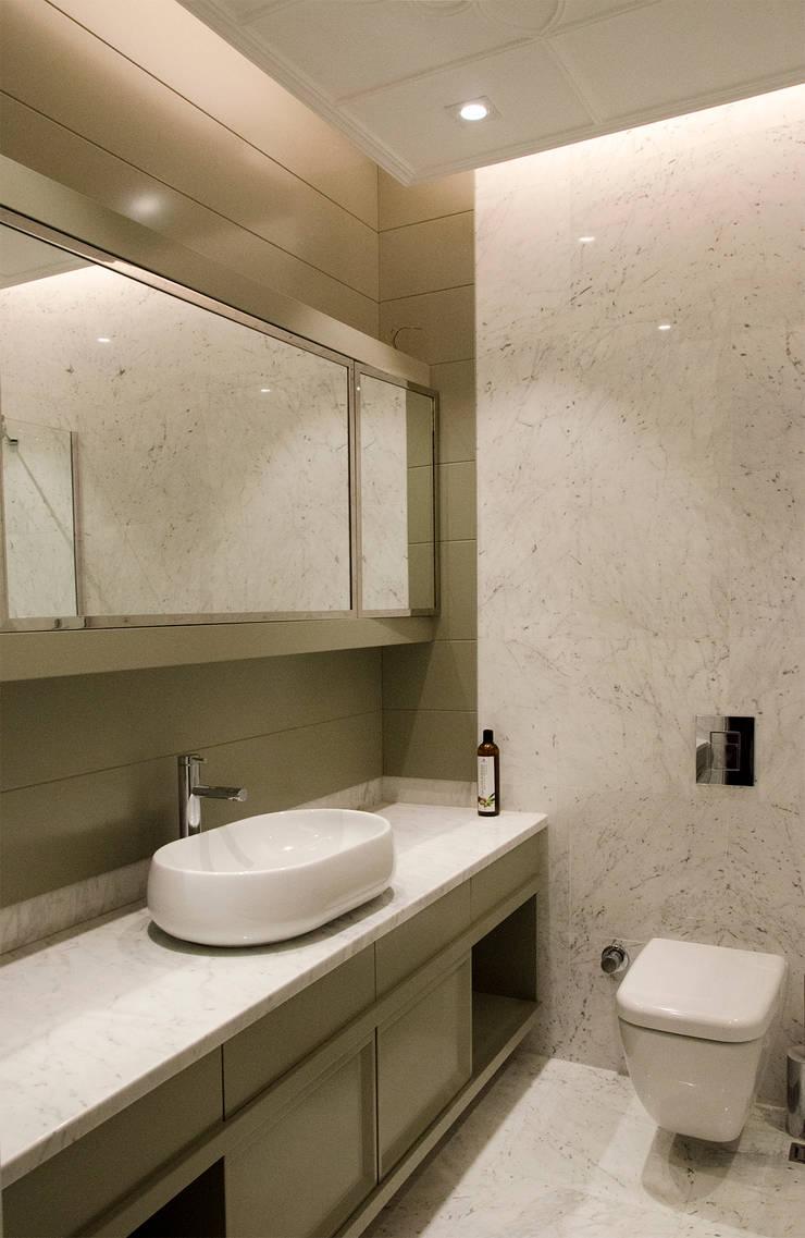 monoblok design & interiors – Tarabya B. Yali Project _ Bathroom 1:  tarz Banyo