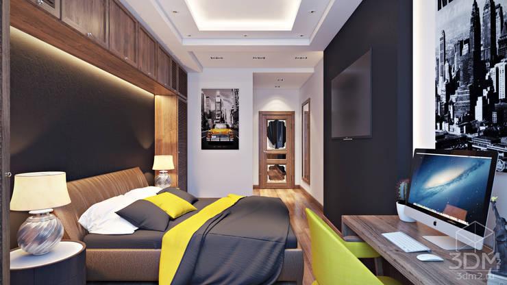 08: Спальни в . Автор – студия визуализации и дизайна интерьера '3dm2'