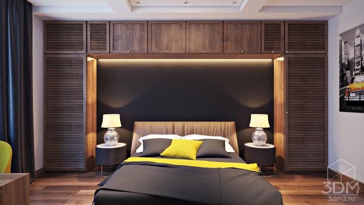 09: Спальни в . Автор – студия визуализации и дизайна интерьера '3dm2'