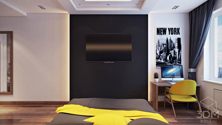 10: Спальни в . Автор – студия визуализации и дизайна интерьера '3dm2'