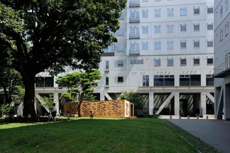 東京大学くうかん実験棟 (Space Lab, The University of Tokyo): 平沼孝啓建築研究所 (Kohki Hiranuma Architect & Associates)が手掛けたです。