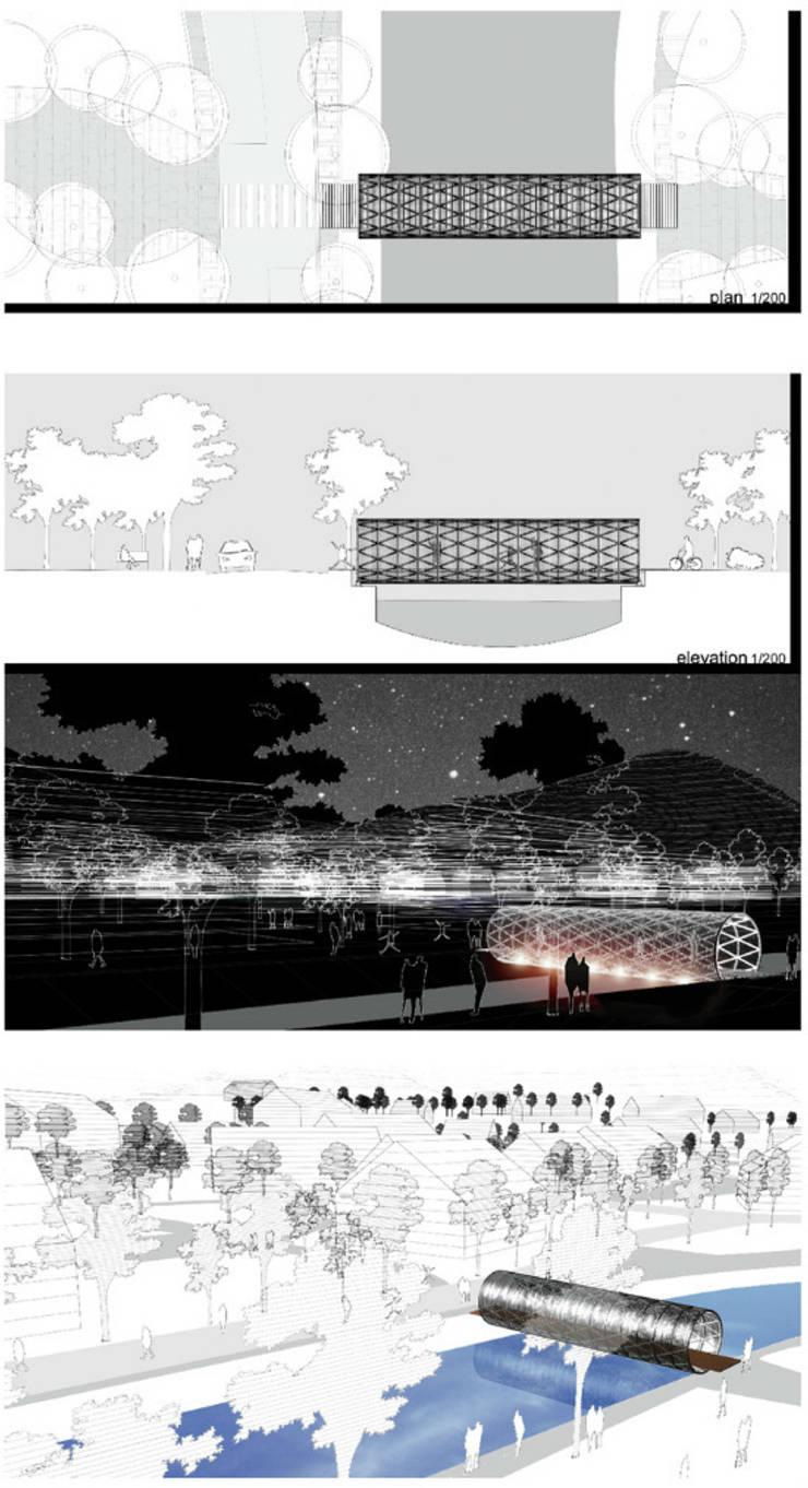 Heyri Artvalley Bridge No.5(The Bridge 'Territory-界'): Shade Architecture & Design Studio의