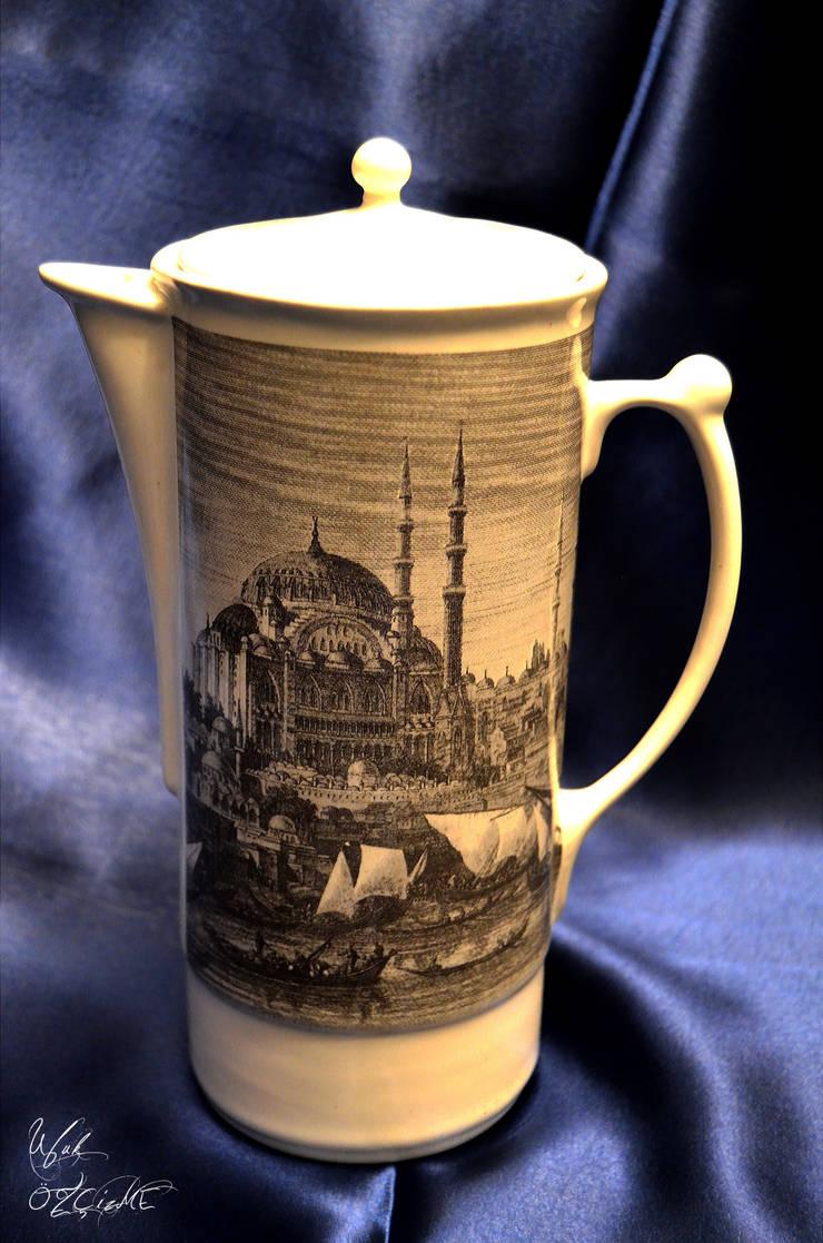Ufuk Özçizme Seramik ve Sanat Atölyesi – Sufi İstanbul-Beyaz:  tarz Mutfak
