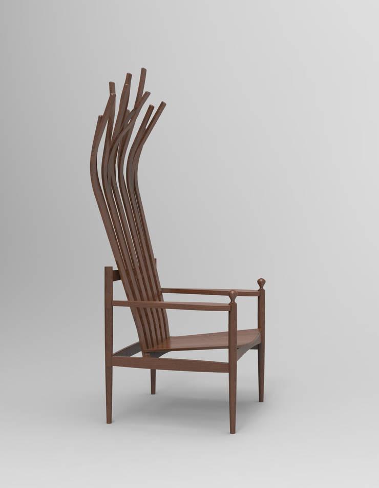 Inception lounge chair: Ryu Jong dae의  거실