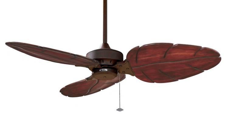 CASA BRUNO Windpointe ventilador de techo 'Calas Menorca', marrón óxido/3: Hogar de estilo  de Casa Bruno American Home Decor