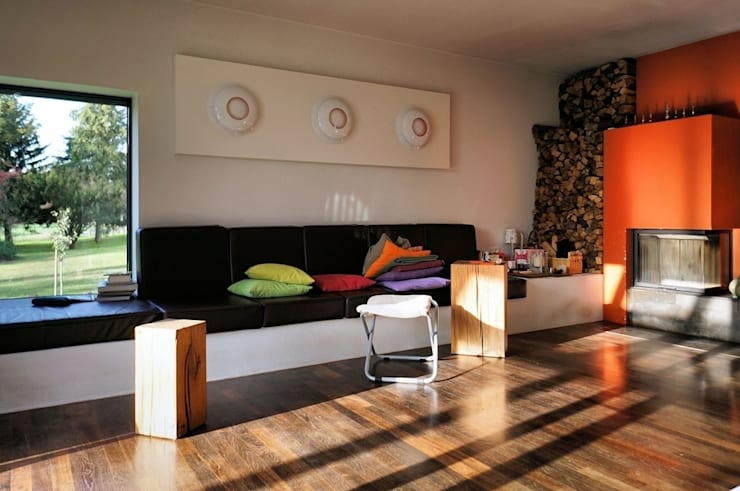 Livings de estilo  por Architekten Lenzstrasse Dreizehn