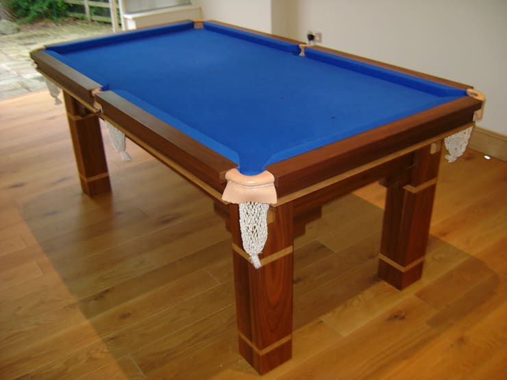 8 ft Walton Table with blue cloth:  Dining room by HAMILTON BILLIARDS & GAMES CO LTD