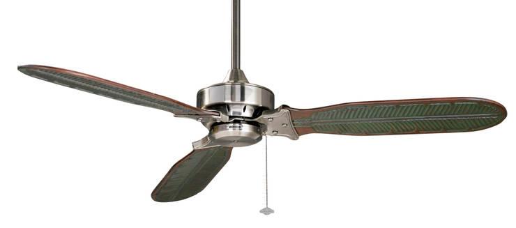 CASA BRUNO Windpointe ventilador de techo 'Ibiza Style', estaño cromado/3: Hogar de estilo  de Casa Bruno American Home Decor