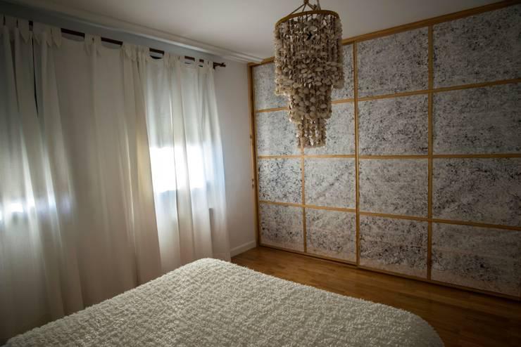 una habitación japonesa/ japanese room: Dormitorios de estilo  de thesustainableproject