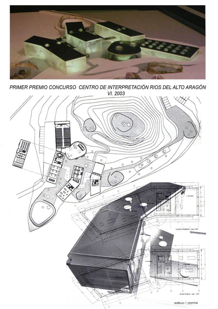 CENTRO DE INTERPRETACIÓN RÍOS DEL ALTO ARAGÓN_CONCURSO GANADO:  de estilo  de  ARTEYVIDA ARQUITECTURA