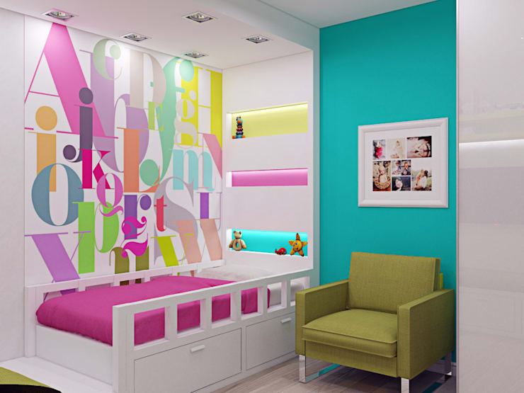 <q class='-first'>Нано-квартира</q>: Детские комнаты в . Автор – 'Лайф Арт'